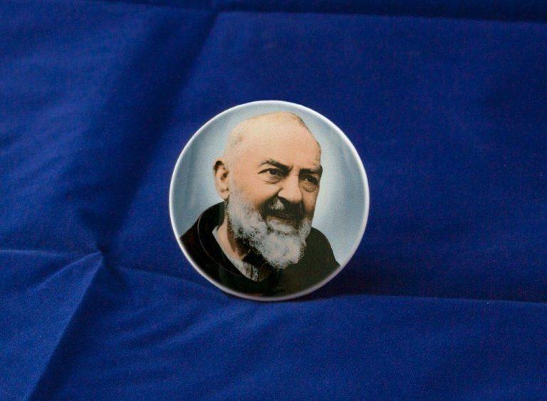 Fotoceramica Tonda Dekal Padre Pio