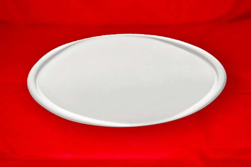 Fotoceramica Ovale serie Liscia Bianca