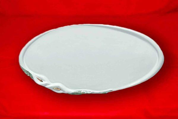 Targa Fotoceramica Ovale Serie Calla Perla