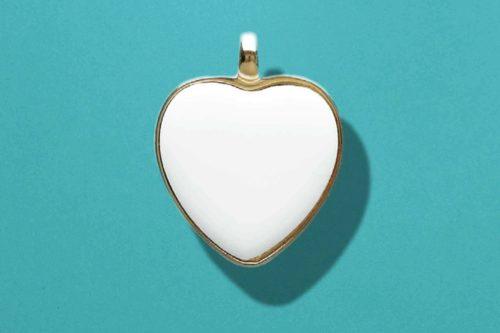 Ciondolo in Ceramica Cuore